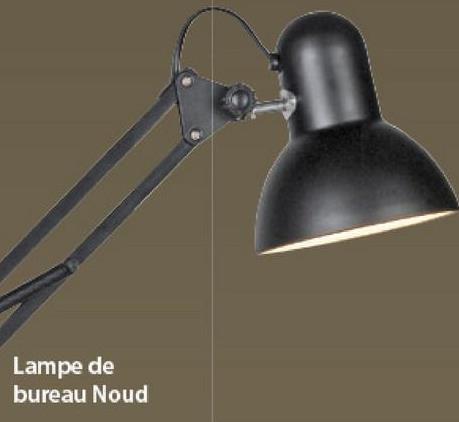 Lampe de bureau Noud KARWEI blanc -