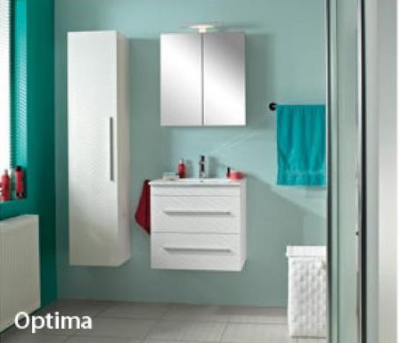 Armoire colonne 35 cm blanc Bruynzeel Optima Chez Gamma, vous pouvez composer en ligne votre salle de bains de rêve : simplement, et tout à fait dans votre style. Choisissez parmi nos collections de meubles de salles de bains proposant des meubles de différents modèles, dimensions et couleurs. La série Optima se compose de meubles modernes de qualité optimale dans pas moins de 10 coloris et 3 dimensions : aplat, nervure du bois ou brillant. Combinez 1 de ces 8 poignées et vous aurez un meuble correspondant entièrement à votre style, comme cette armoire colonne mi-haute en blanc uni.