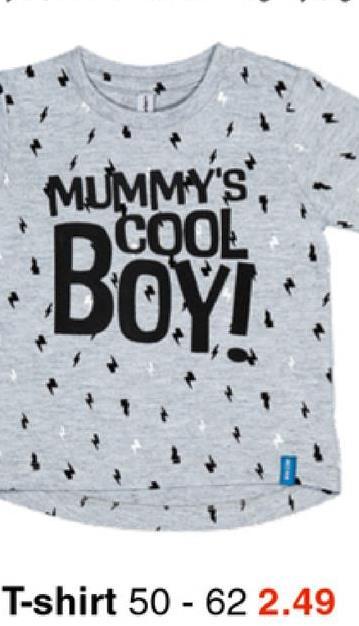MUMMY'S BOM T-shirt 50 - 62 2.49