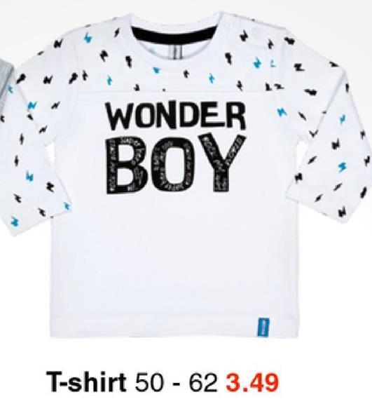 WONDER BOY T-shirt 50 - 62 3.49