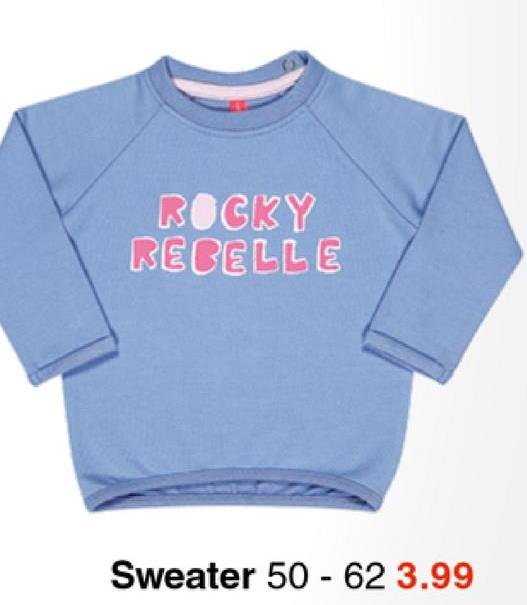 ROCKY RECELLE Sweater 50 - 62 3.99