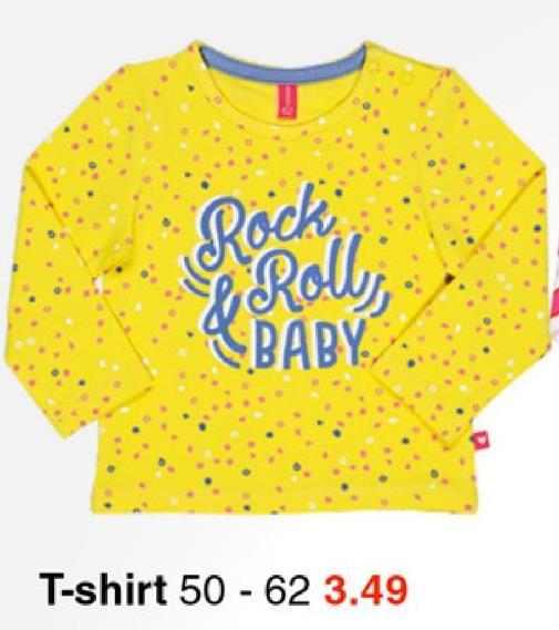 Rock BABY T-shirt 50 - 62 3.49