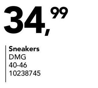 34.99 Sneakers DMG 40-46 10238745