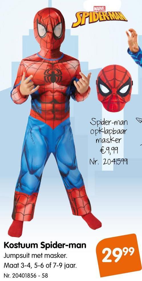 Ultimate Spider-Man Kostuum Deluxe Verkleed je in je favoriete actiefiguur en word een echte Spiderman.