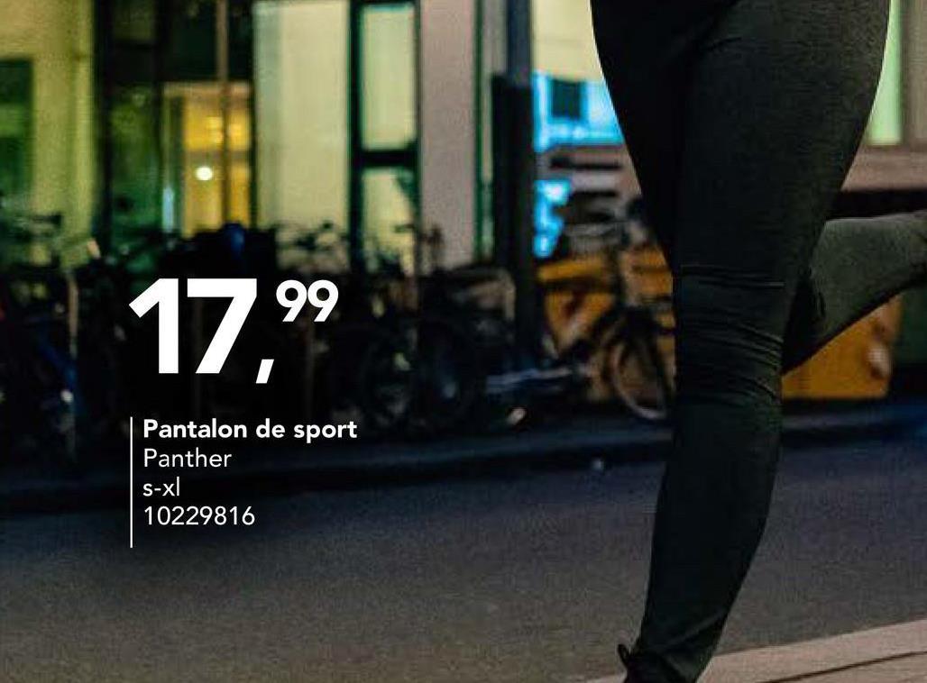 Pantalon de sport Panther A la recherche d'un pantalon de sport confortable pour filles? Achetez alors ce pantalon de sport de notre marque Panther avec taille élastiquée et cordon de serrage!
