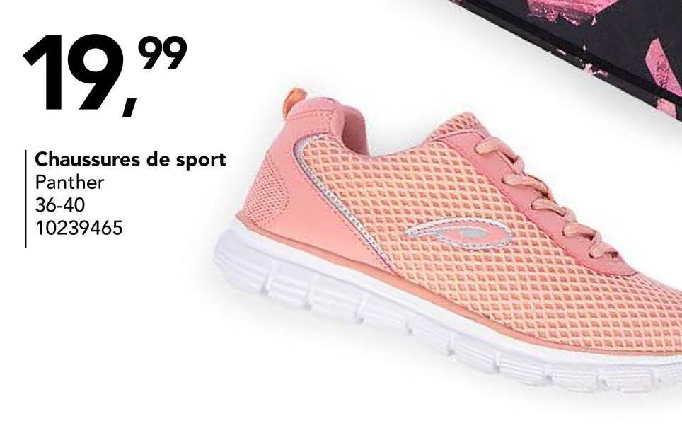 Chaussure de sport Panther Grâceàcette chaussure de sport de Panther, vous faites du sport avec plaisir et avec style! Achetez cette chaussure de sport pour filles maintenant dans notre webshop!