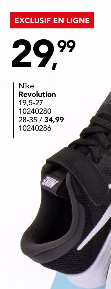Chaussure de course Nike Downshifter 7 en bleu roi A la recherche d'une chaussure de sport qualitative et confortable pour garçons? Optez pour le DOWNSHIFTER 7 en bleu roi de Nike. Grâce à la fermeture à velcro, vous pouvez le mettre et enlever facilement!