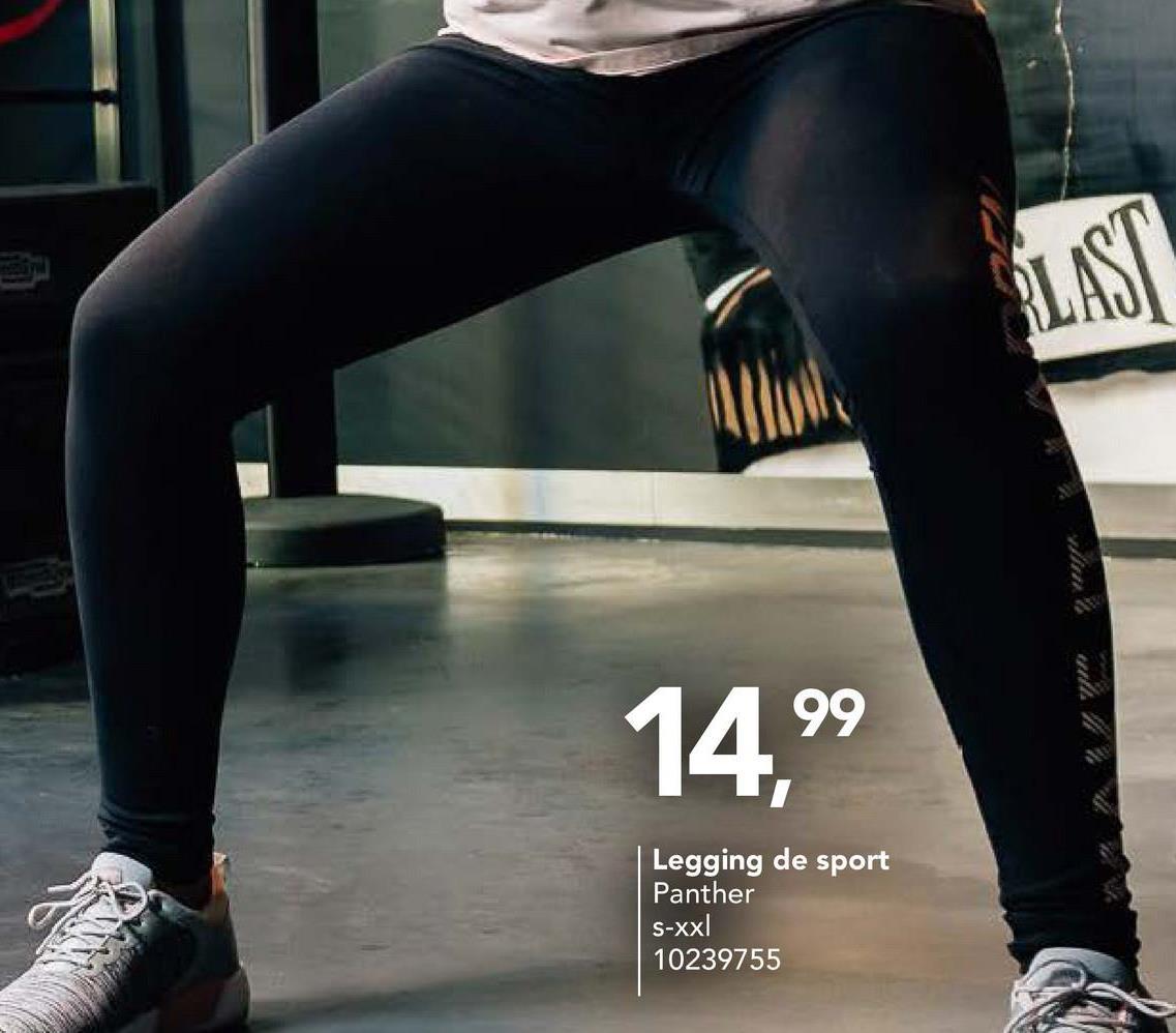 14,99 Legging de sport Panther S-xxl 10239755