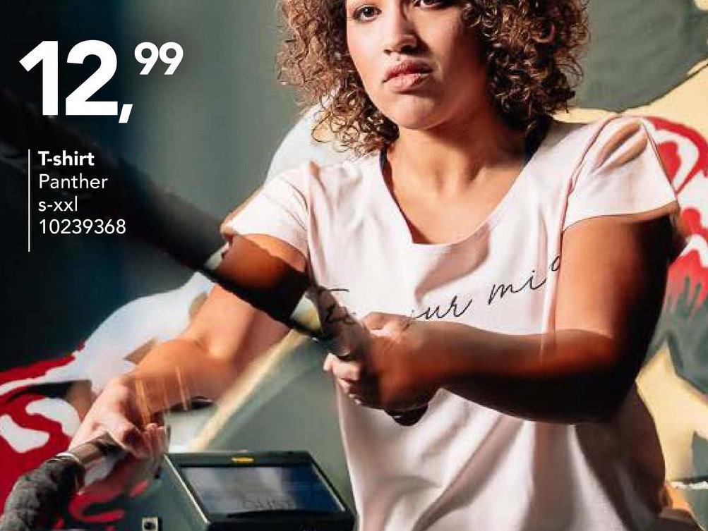 T-shirt Panther Ce T-shirt très chouette de Panther à col rond est idéal pour des filles qui aiment faire du sport ! Que vous aimiez courir, faire de la gymnastique, faire duvélo oudanser... avec ce T-shirt vous faites du sport avec plaisir ETavec style.