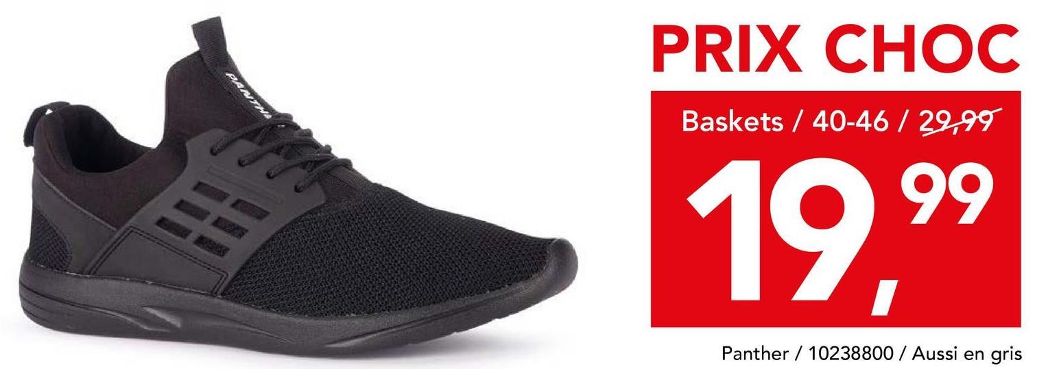 Chaussure de sport Panther Vous optez pour un look sportif et décontracté? Alors, ces baskets bleues à fermeture à velcro et à semelle blanche de notre propre marque à bon prix Panther sont le choix idéal pour compléter votre tenue!