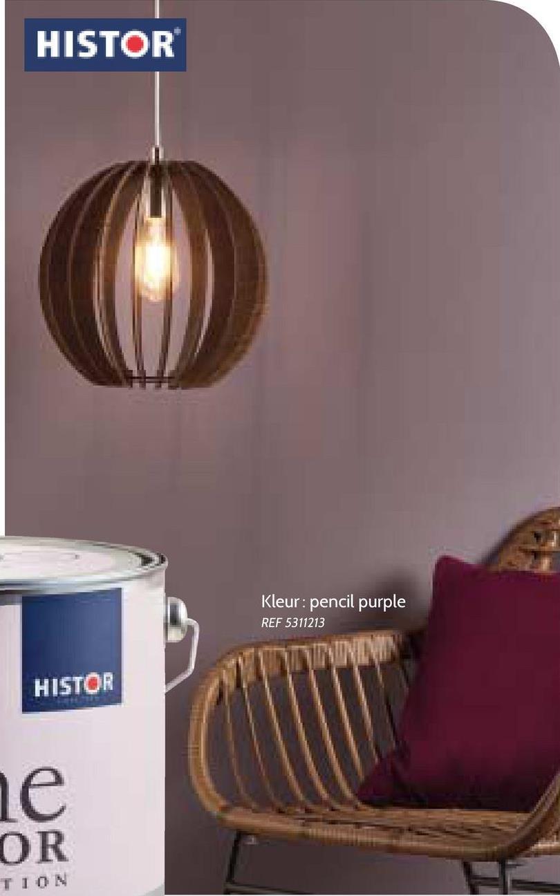 HISTOR Kleur: pencil purple REF 5311213 HISTOR le OR TION