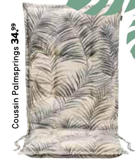 Coussin Palmsprings 34.99