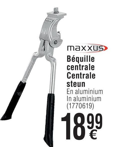 maxXUS Béquille centrale Centrale steun En aluminium In aluminium (1770619)