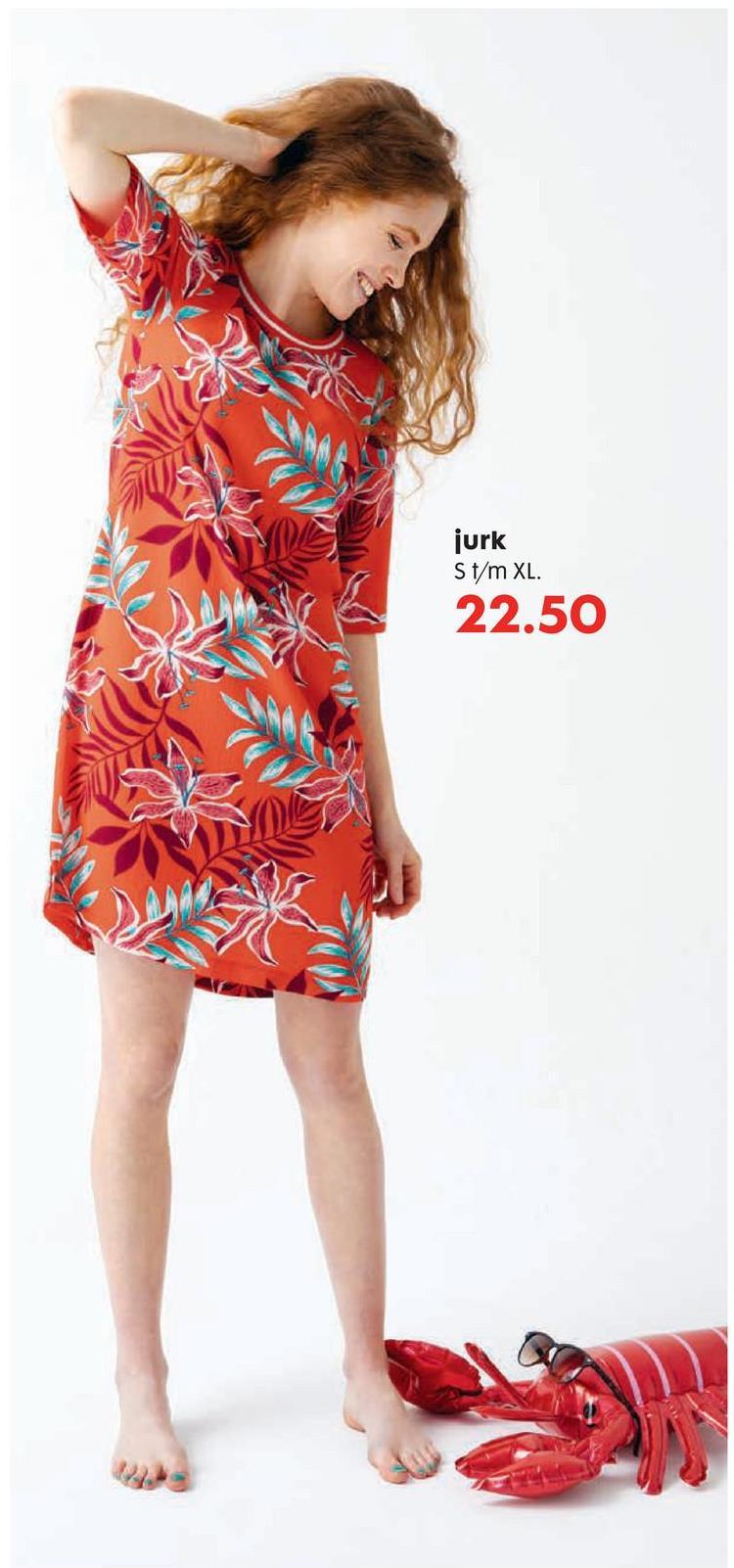 jurk St/m XL. 22.50
