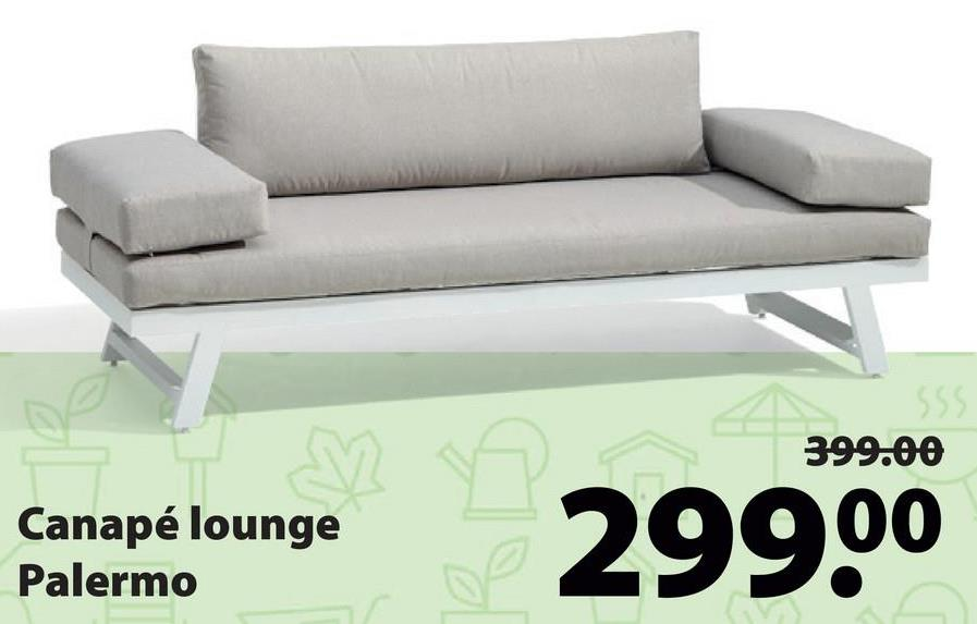 SSS 399.00 are né lounge Canapé lounge Palermo 29900