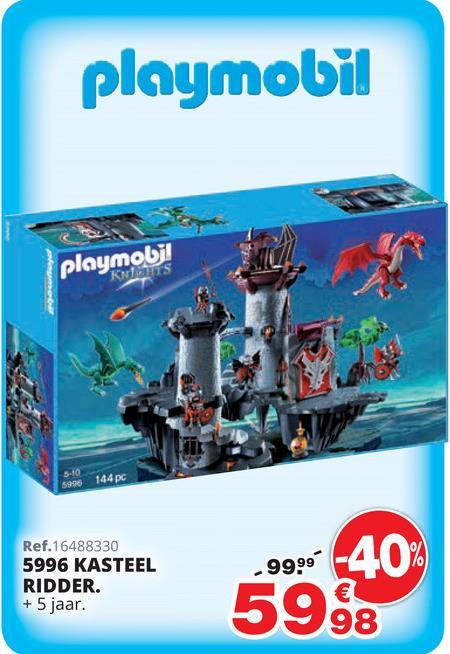 Kasteel ridder - PLAYMOBIL Knights - 5996