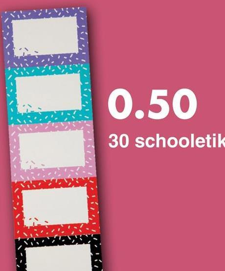 0.50 30 schooletik
