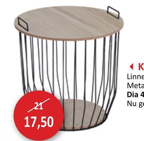 AK Linne Meta Dia 4 Nu ge 17,50