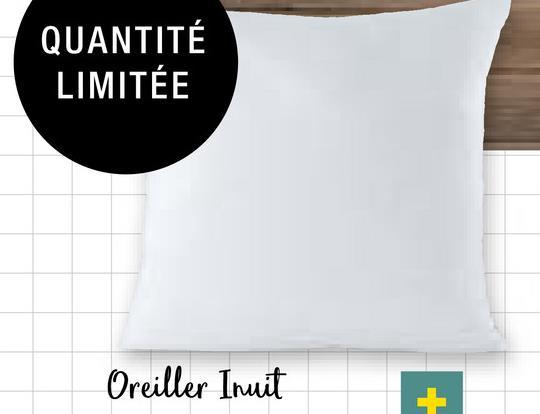 QUANTITÉ LIMITEE Oreiller Inuit