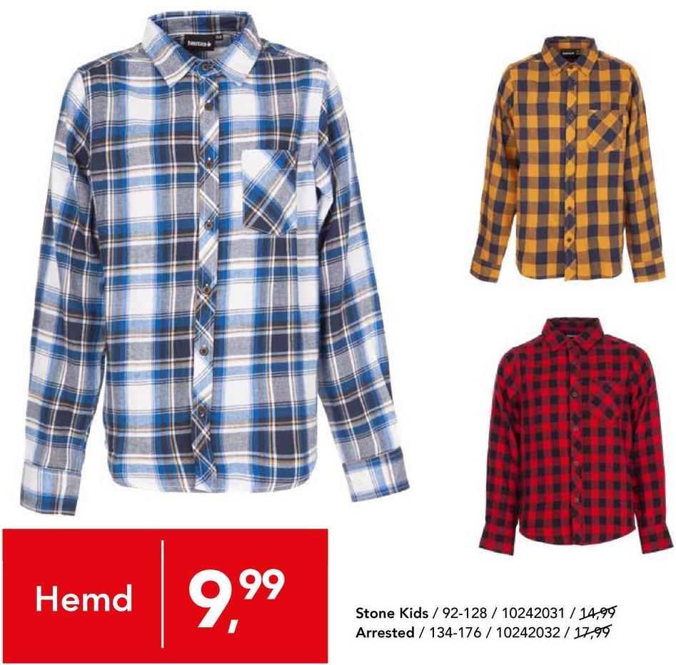 Overhemd Stone Kids - Oker Katoenen overhemd met geruit motief en knoopssluiting van het merk Stone Kids voor jongens.