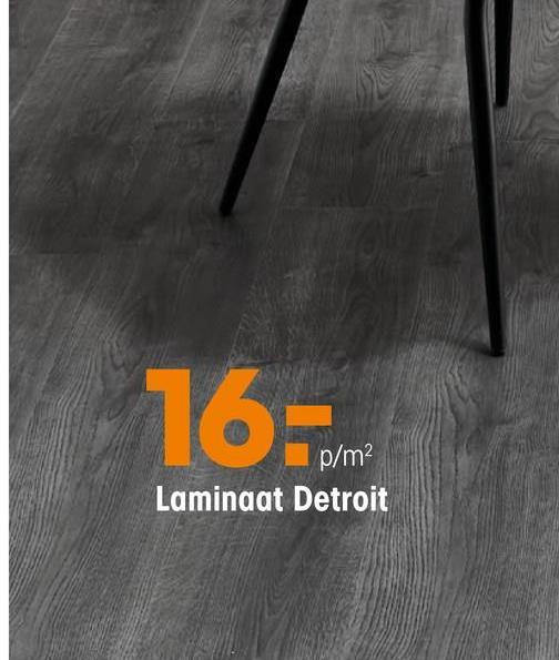 Laminaat Detroit Grijs Eiken Laminaat met grijs eiken kleur. Geschikt voor zeer intensief woongebruik en normaal commercieel gebruik. Voorzien van het het PEFC keurmerk. 7 mm dik.