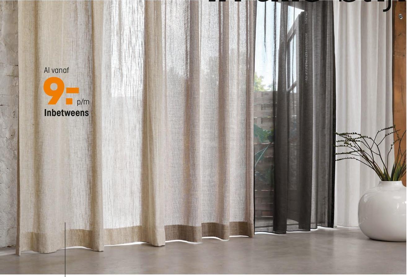 Inbetween Mette Off-white Geef extra sfeer aan je huis met inbetween Mette. Kleur: offwhite.