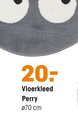 20- Vloerkleed Perry 070 cm