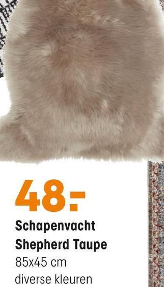 Schapenvacht Shepherd Groen Zacht schapenvacht groen. 100% wol voorkant en 100% leder achterkant. 45x85 cm (bxl).