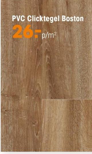 Pvc Click Strook Boston Eiken PVC strook met eiken kleur en houtdessin. Geschikt voor zwaar commercieel gebruik. 5 mm dik.