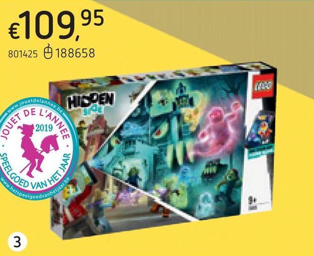 LEGO Hidden Side 70425 L'école hantée de Newbury