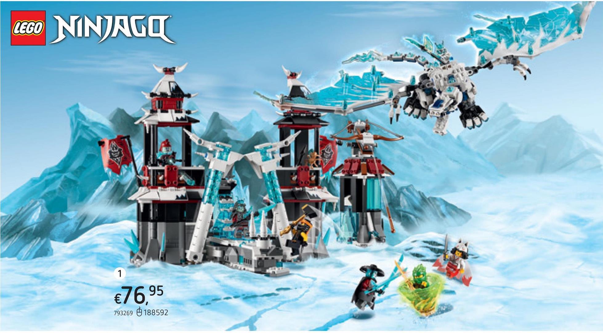 LEGO Ninjago 70678 Le château de l'Empereur oublié