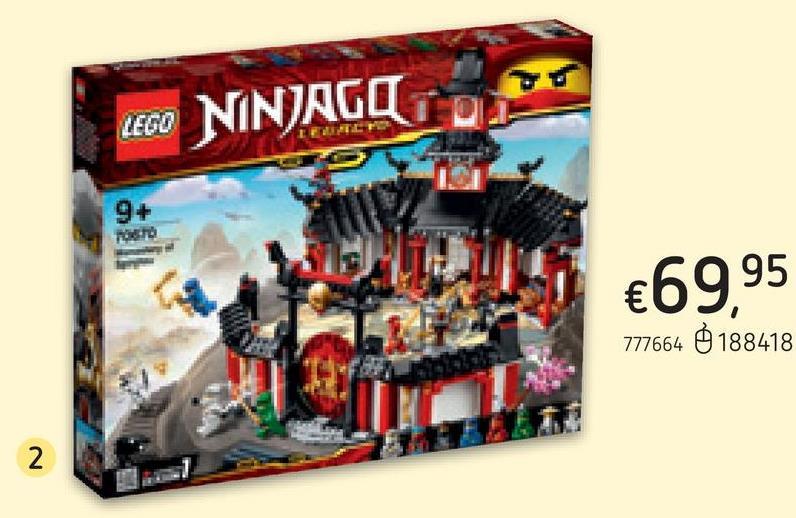 LEGO Ninjago 70670 Le monastère de Spinjitzu