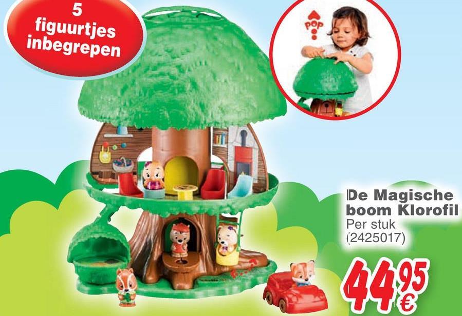 figuurtjes inbegrepen De Magische boom Klorofil Per stuk (2425017) 6495 €