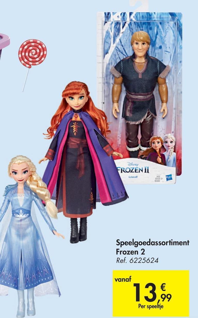 Day FROZEN II Speelgoedassortiment Frozen 2 Ref. 6225624 vanaf 13,6 Per speeltje