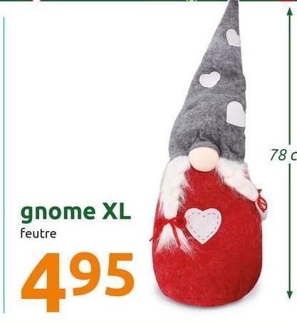 78 C gnome XL feutre 495