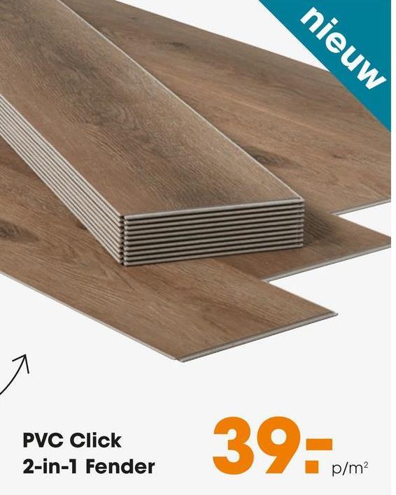 nieuw PVC Click 2-in-1 Fender p/m2