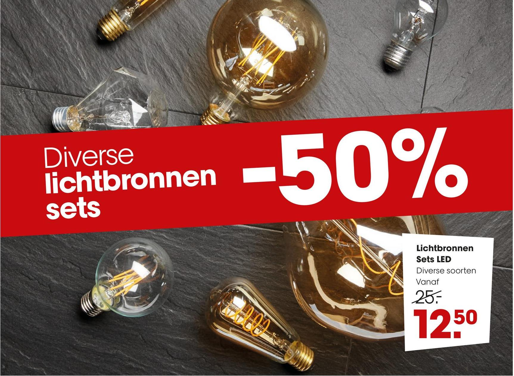 Diverse lichtbronnen sets Remainonnan -50% Lichtbronnen Sets LED Diverse soorten Vanaf 25: 1250