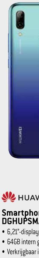 "HUAWEI HUAV Smartpho DGHUPSM • 6,21""-display • 64GB intern • Verkrijgbaar i"