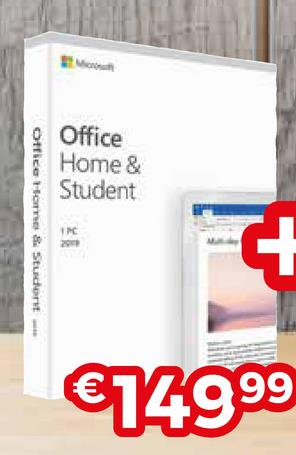 9 Office Home & Student Office Home & Student €14999