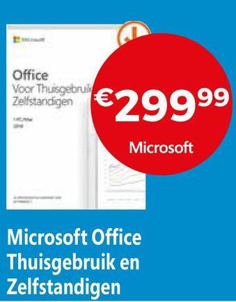 Office Voor Thuisgebruik Zelfstandigen €29999 Microsoft Microsoft Office Thuisgebruik en Zelfstandigen