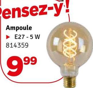 ensez-y! Ampoule E27-5 W 814359 999