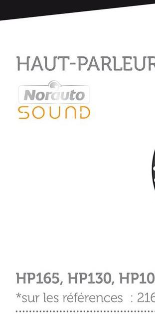 2 Haut-parleurs Norauto Sound Hp-165x La gamme de haut-parleur NORAUTO SOUND à un design conçu pour une installation simple dans un grand nombre de véhicules. Les woofers de 165 mm de diamètre de ce kit audio sont plus performants que ceux de votre système audio d'origine. Avec une puissance nominale de 35 watts RMS et une puissance maximale de 210 watts, ces enceintes restitueront un son précis et puissant . Équipez votre voiture avec ce kit deux voies coaxiales pour vivre une expérience sonore performante et dynamique et profiter pleinement de vos morceaux de musique préférés.. - Facilité d'installation.Son précis et puissant.