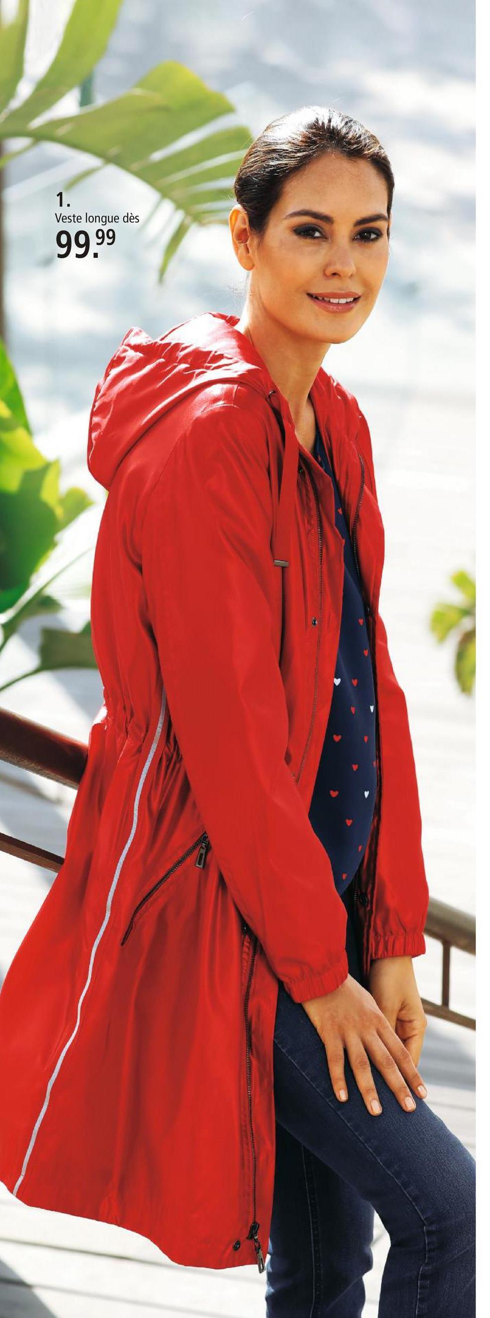 Veste longue Laura Kent Rouge Votre garde-robe ne serait pas complète sans cette veste longue décontractée Laura Kent ou l'un des nombreux autres modèles de notre collection. De plus, des bandes fantaisie ornent la veste. De coupe cintrée à base droite, elle vous donne une allure féminine. Sa fermeture est zippée. Bas des manches élastiqué. Composer une tenue devient un jeu d'enfant grâce à son coloris uni. Elle est composée de fibre synthétique. Vous découvrirez des milliers de produits dans notre boutique en ligne et pourrez y commander cette veste longue Laura Kent que nous enverrons immédiatement chez vous!