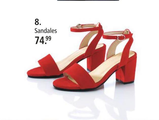 Sandales KLiNGEL Rouge Besoin d'une nouvelle paire de chaussures favorites? Que pensez-vous de ces sandales mode? Elles ont un talon bottier de 65 mm. Doublure: matière souple, première: cuir et semelle de marche: synthétique. Les chaussures se distinguent par leur forme ouverte. Elles sont à boucle.
