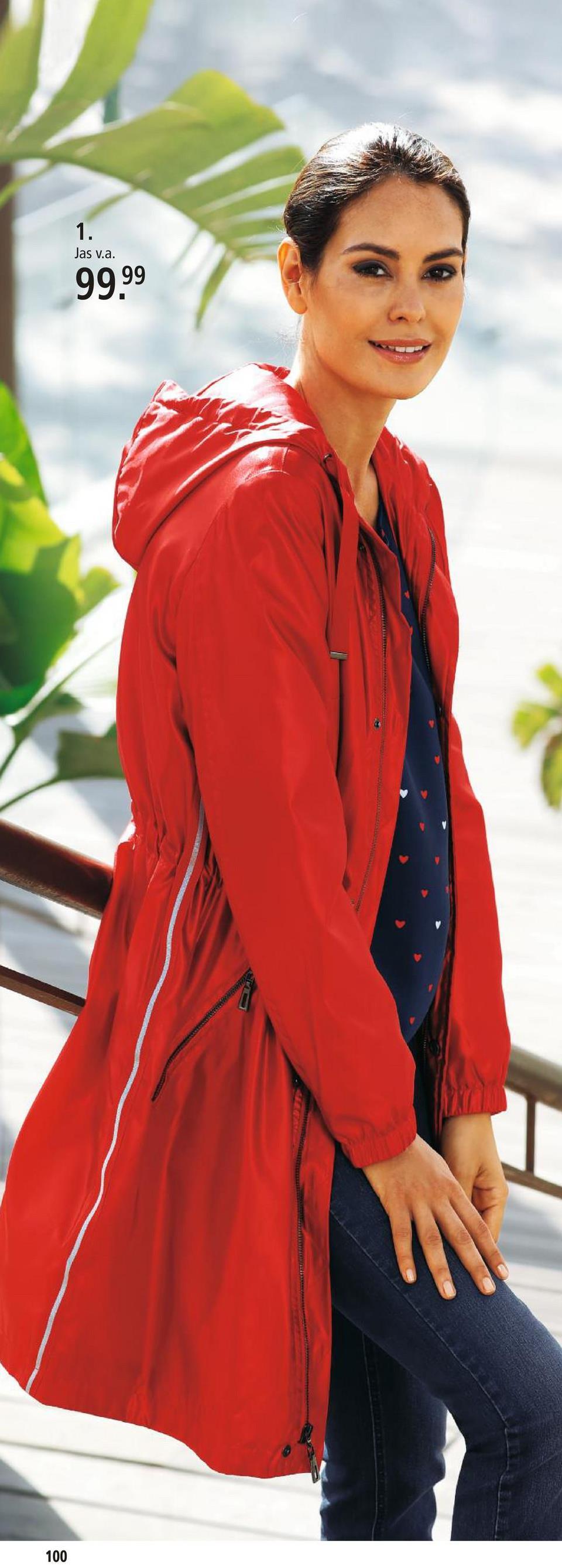 Jas Laura Kent Rood Deze lange jas is van laura kent. De bandjes zijn bijzonder opvallend. De lange jas heeft een capuchon. Hij heeft een aansluitend model en is precies wat u nodig hebt als u een lange jas zoekt die uw figuur benadrukt. Hij kan met een rits gesloten worden. De mouwzomen zijn elastisch. Lange mouwen. Van kunstvezels.