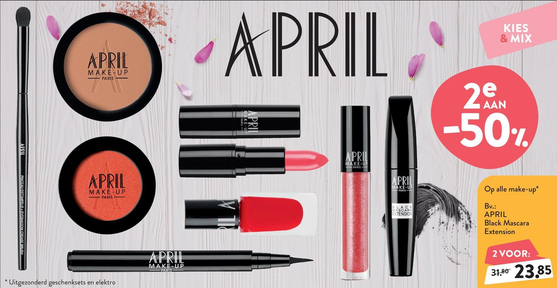 APRIL Black Mascara Volume APRIL Black Mascara Volume