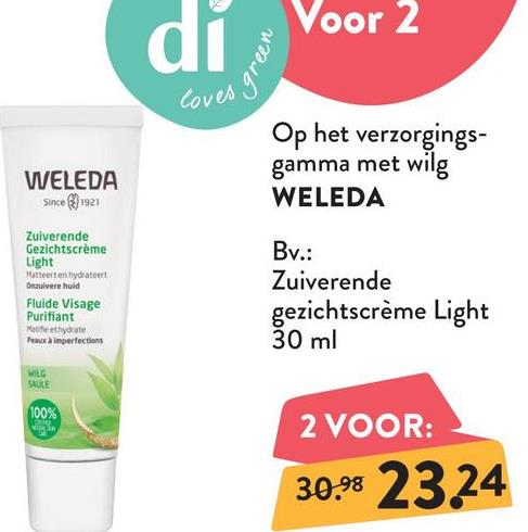 WELEDA Naturally Clear Zuiverende Reinigingsgel WELEDA Naturally Clear Zuiverende Reinigingsgel