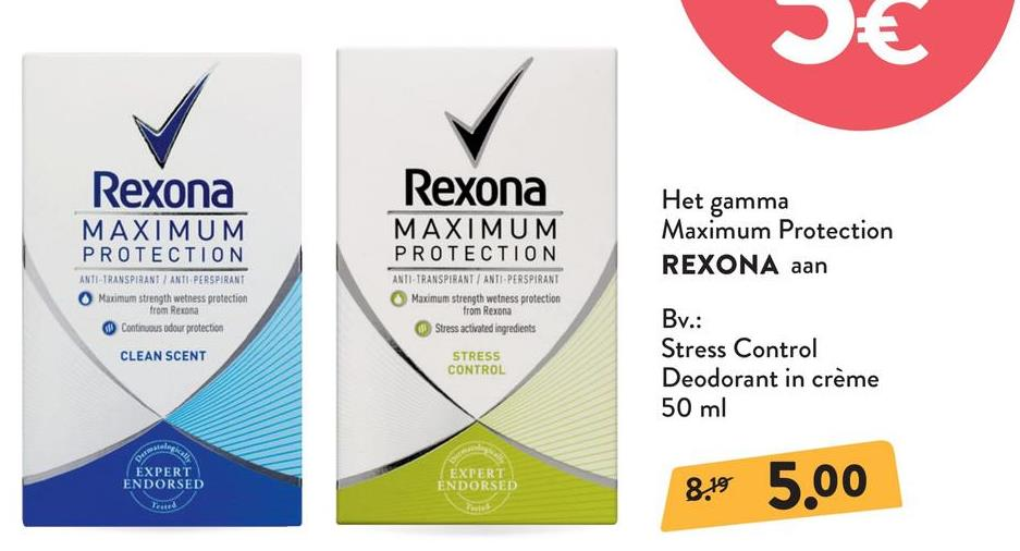 REXONA Women Cream Deodorant Maximum Protection Clean Scent REXONA Women Cream Deodorant Maximum Protection Clean Scent