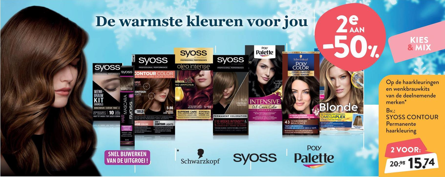 SYOSS Contour Coloration 5-86 Chocolate Lover Brown SYOSS Contour Coloration 5-86 Chocolate Lover Brown