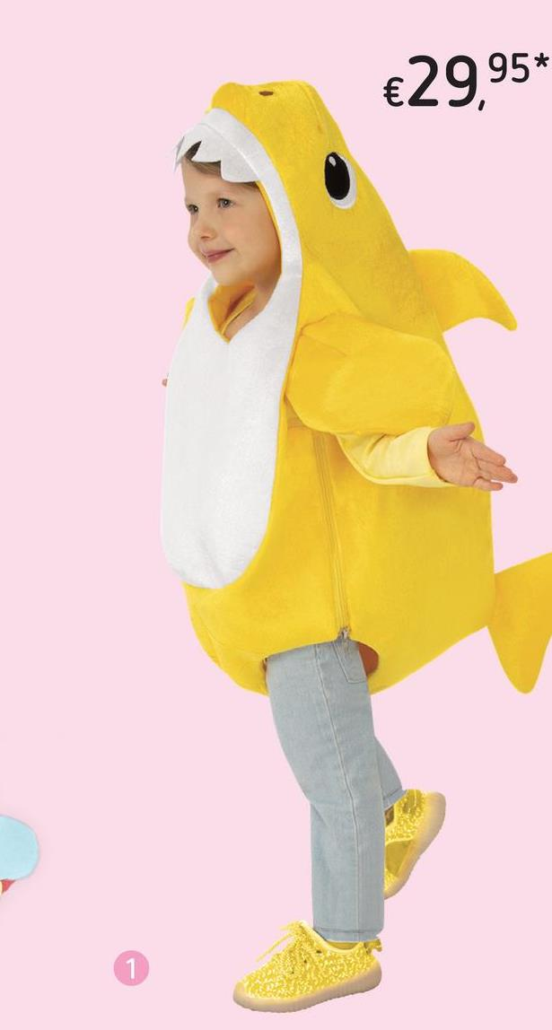 Déguisement Baby Shark Yellow taille 68/74